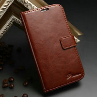 High Class Fashion Luxury Wallet Leather Universal Flip Phone Case for Samsung S4