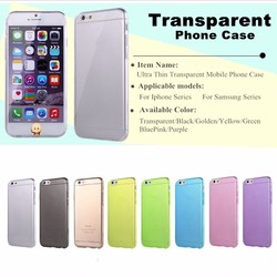 New tpu phone case cover for iphone 6 tpu transparent phone cases