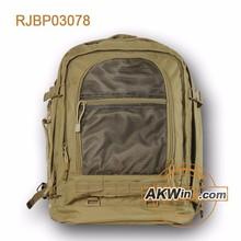 Khaki Air Force High Density Nylon military duffle bag 2015 New Design
