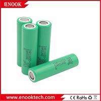 Vamped battery samsung 18650 25r 2500mAh rechargeable for E cig vapor mod