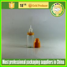 clear PET long thin tip nicotine oil dropper bottle with childproof lids 5ml 10ml empty e-juice bottle for e-cigar oil