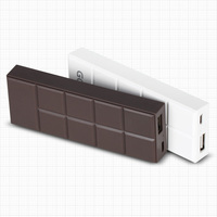 GOLF unique power bank chocolate color shenzhen factory smartphone parts charger for mobile phone