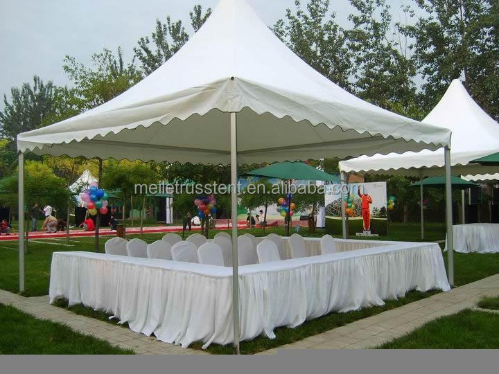 No wall small cheap pagoda marquee tent for guangzhou sale Cheap wall tents for sale
