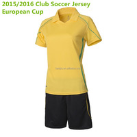 China cheap sportswear soccer/football woman/The girls costume team names Jersey