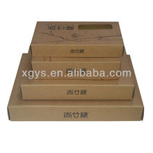 Home Textile Corrugated Paper Packing Box (XG-CB-109)