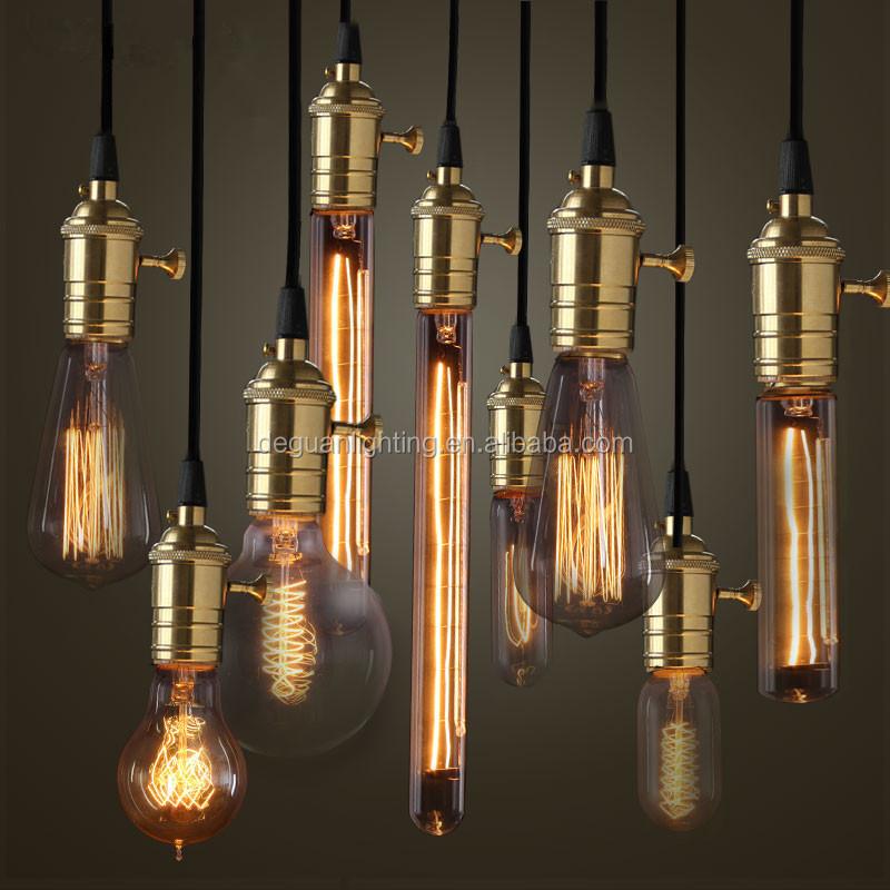 t30 40w decorative filament tubular edison bulb buy e27. Black Bedroom Furniture Sets. Home Design Ideas