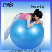 Ecofriendly PVC anti burst gym balance ball