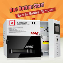 A+ KO MAG Vacuum OCA lamination machine all Automatic working broken phone screen repair oca laminator oca lamination machine