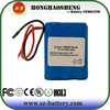 Hot sale medical battery pack rechargeable 11.1V 4400mah li-ion battery for medical machine