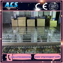 ACS Aluminium mobile glass stage,aluminium stage frame,large entertainment stage
