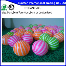 colorful hdpe hollow plastic ball hot sale