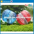 Barato bola de parachoques bola inflable / cuerpo zorbing bola de la burbuja venta