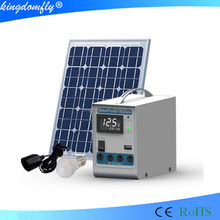 Li battery Solar DC lighting kit 5W forcamping