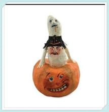 Halloween Pumpkin Seed Ghost