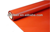 0.7mm fireproof insulation coloured silicone coating fiberglass fabric