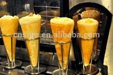 Pieno automatico- gelato al cono di cialda/pizzeria cono linea di produzione