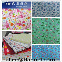 """Baby Cotton Stretch Flannel Fabric for Pajamas20*10 40*42 57/58"""" from Hebei Tianquan"""