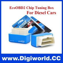 Hot sale Blue EcoOBD2 Economy Chip Tuning Box Plug and Drive Eco OBD2 Diesel