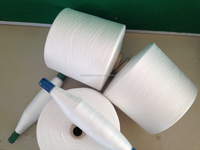 raw white color 40/2 100% polyester yarn sewing thread