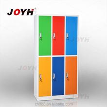 kids mini lockers with hanging rod/steel locker/metal locker