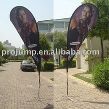 indoor or outdoor portable promotional flags and banners