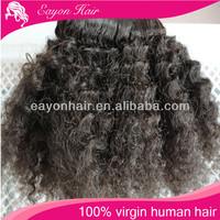 Wholesale 10 12 14 6A afro kinky curly virgin mongolian hair