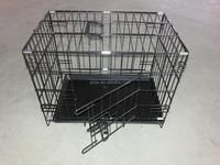 Metal Folding Galvanised Dog Crate