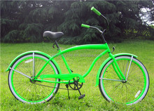 Utility Bicycle Type Aluminum Alloy Rim steel Material Beach Cruiser