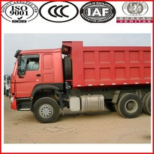SINOTRUK brand 6x4 drive 336hp howo dump trucks with aire conditioner