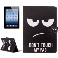 Hot selling Flip Stand Leather case for iPad 4 / 3 / 2
