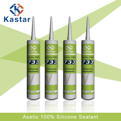 Guangdong supplied acetoxy general purpose silicone sealant 1200