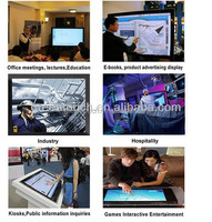 """23.6"""" 16:10 usb IR multi IR touch screen for lcd with usb interface plug and play for LCD monitor forAndroid/Linux/Windows/MAC"""