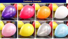 100% nature latex factory helium latex balloon