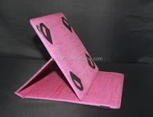 scratch resistance Jean fiber leather case for tablet pc/laptop