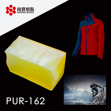 NANPAO Light Yellow Transparent PUR Glue For Textile application