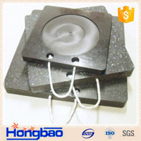 HDPE plastic stabilizer pad,various colors crane foot bearing support,HDPE ground mat