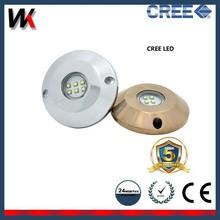 5 Year Warranty! High Power Stainless Steel Marine Underwater LED lights 60w 120w