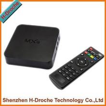 XBMC Kodi Fully loaded amlogic S805 mxq Quad Core Android 4.4 Smart TV Box 1080P 1GB RAM Free Live TV+Rii i8 Wireless keyboard