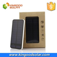 12000mah solar power bank external battery charger with high quality touch switch