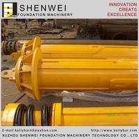 Interlocking kelly bar for Bauer drilling rig BG18 BG40(SW/JS470-4X17 SW/JS559-5X20.4) BG50(SW/JS559-4X22.3)