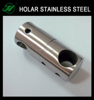 stainless steel connecting bar holder for handrail fitting