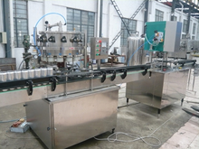 Automatic easy pull ,ring pull can soft drink canning machine