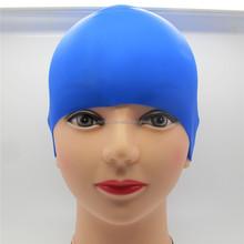 Hot Summer Wholesale Customized Design Silicone Swimming Cap