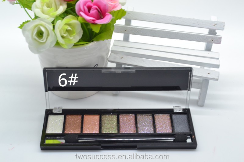 Smokey 8 colors pigmented silky smooth eye shadow palette, private label cosmetics makeup, custom makeup palette (4).jpg