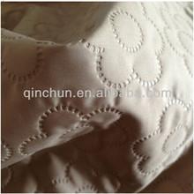 Themal de tela pegado 300 T dewspo pongee para edredón o ropa de cama