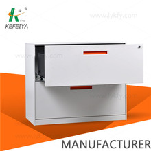 manufacturering 3 drawer sturdy high quality metal India file box powder coated modern lateral file