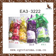 Customed high quality factory direct price dried flower air freshener bulk dried potpourri