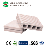 Hollow WPC Decking for Outdoor with High Quality and Good Price