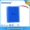 Good quality 3.7v 1s3p electric motorcycle battery pack 18650 battery 6000mah for led light/strip/panel/CCTV camera