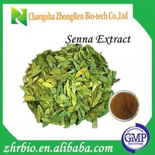 Hot Sale GMP Certificate 20% Sennosides Senna Leaf Extract